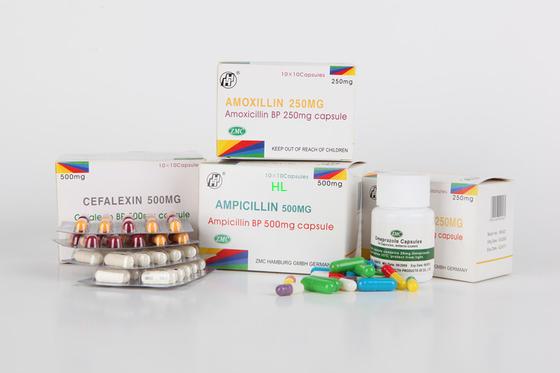 Китай Ампициллин Capsules медицины пенициллинов 250MG 500MG BP/USP дистрибьютор